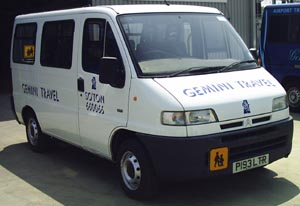 Gemini Travel - private & contract coach, minibus & car hire